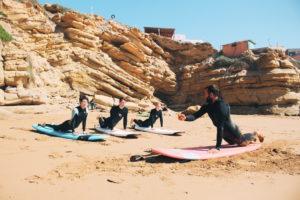 Sandycamps – Surf und Yoga
